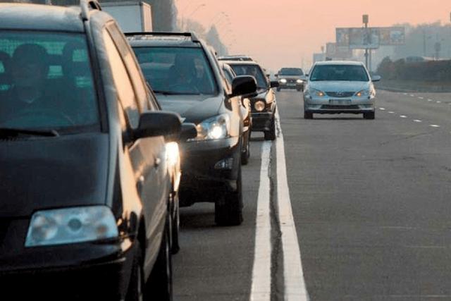 Штраф за выезд на полосу встречного движения в 2021 году