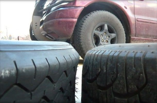 Можно ли ездить на разных шинах на передней и задней оси?