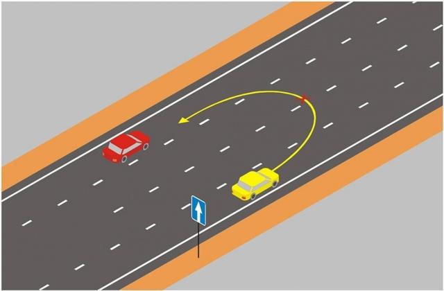 ДТП при выезде на дорогу с односторонним движением