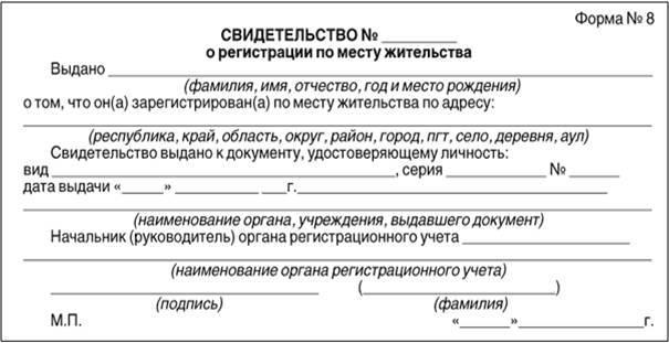 Оформление документов, подлежащих выдаче заявителю