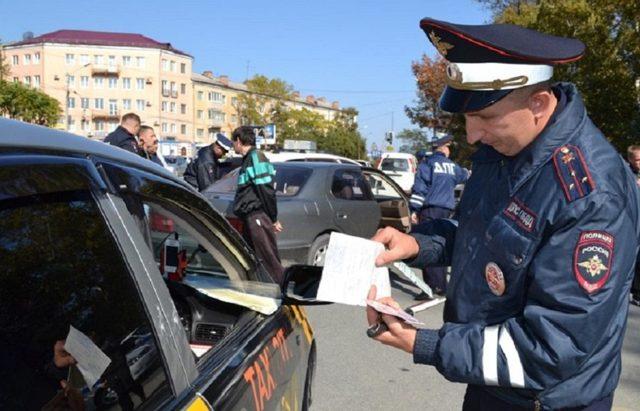 Остановка автомобилей для проверки документов вне постов с 20 октября 2017 года