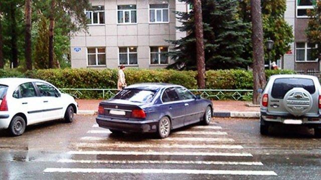 Штраф за парковку на тротуаре в 2021 году
