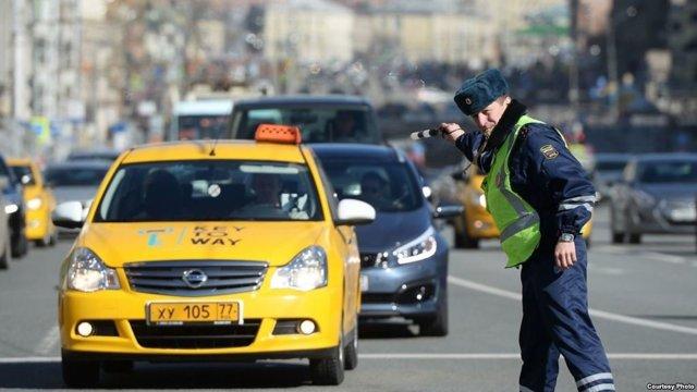 Увеличенные штрафы для такси и пассажирских автобусов