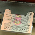 Замена водительского удостоверения 2011. Новые права 2011. Бланк водительского удостоверения с марта 2011 года