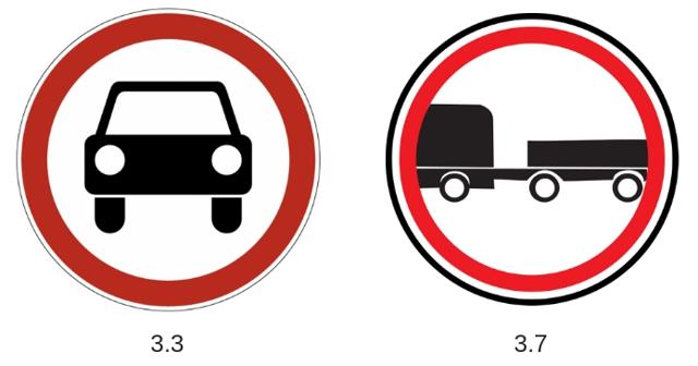 Ограничения для движения грузовых автомобилей в 2012 году