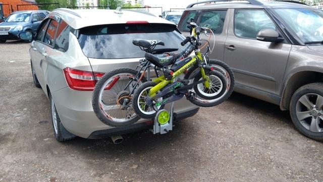 Законно ли крепление для велосипедов на фаркоп?