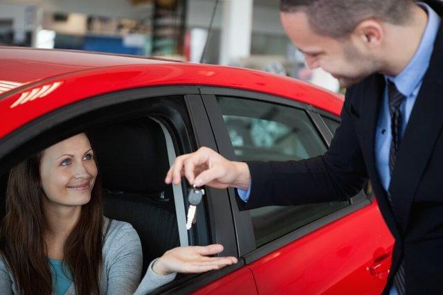 Показ автомобиля при продаже