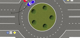 Сложное маневрирование на автомобиле