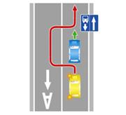 Статья 12.15. Нарушение правил расположения транспортного средства на проезжей части дороги, встречного разъезда или обгона