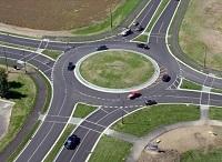 Регулируемый перекресток на автодроме в 2021 году