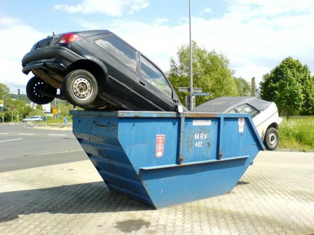 Снятие транспортного средства с учета