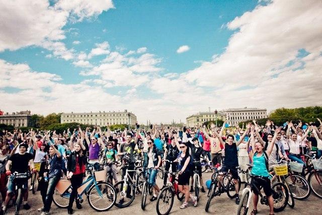 Введение велосипедных дорожек и велосипедных полос с 8 апреля 2014 года
