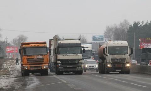 Введение постоплаты проезда для тяжелых грузовиков с 15 апреля 2016 года