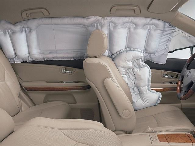 Подушки безопасности в автомобиле: фронтальные, боковые, коленные, шторки безопасности