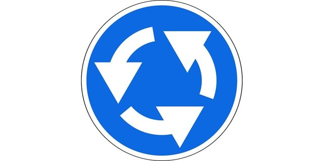 Штрафы ГИБДД на перекрестках с круговым движением