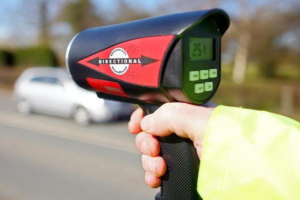Изменение штрафов за превышение скорости с 1 сентября 2013 года