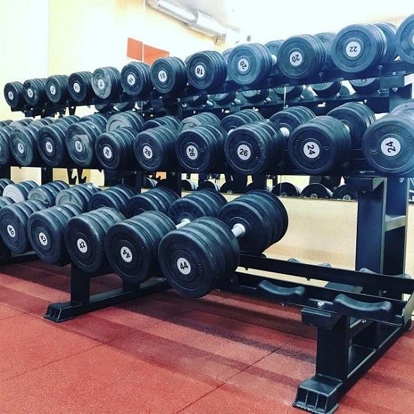 ii. Оборудование зон упражнений